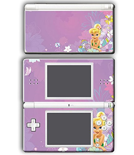 Tinkerbell Princess Friends Fairy Queen Girl Tinker Bell Video Game Vinyl Decal Skin Sticker Cover for Nintendo DS Lite System
