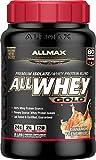 ALLMAX Nutrition AllWhey Gold 100 Whey Protein Premium Whey Protein Isolate Cinnamon French Toast 2 lbs 907 g