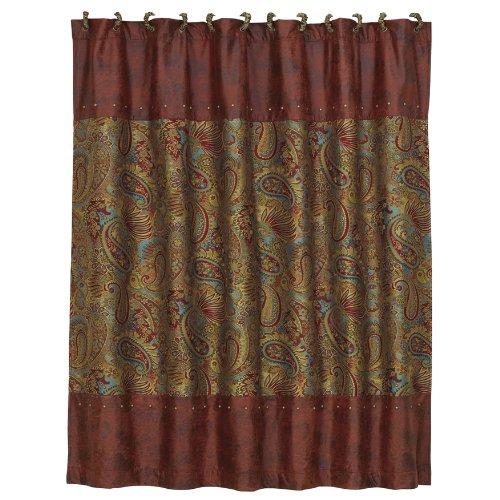 HiEnd Accents San Angelo Western Shower Curtain