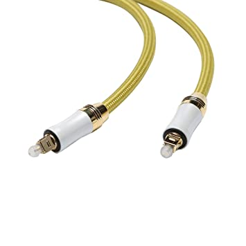 kuyiohifi Digital óptico Audio Cable Toslink