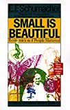 Small Is Beautiful 0th Edition