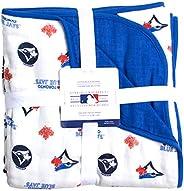 MLB Toronto Blue Jays Cotton Muslin Reversible Play Blanket