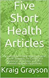 Five Short Health Articles: Thrombosis in Women, Water and Heart Attacks, Jaundice, The Causes and Treatments of Anemia, and a Pre-Diabetes Diagnosis Opportunity