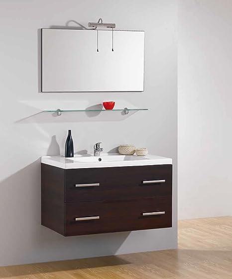 MOBILE MODERNO ARREDO BAGNO GIADA 90cm: Amazon.it: Casa e cucina