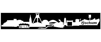 Samunshi Autoaufkleber Bochum Aufkleber Skyline In 7 Größen