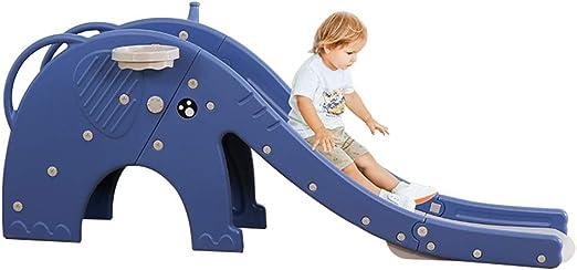 Slides Toboganes de Juegos Infantiles para Interiores, Bebe Combinación de Diapositivas de Juguete de plástico para el hogar, Tobogán Exterior/Parque/ jardín de Infantes con función de música: Amazon.es: Hogar