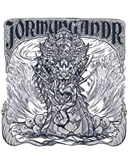 JÖRMUNGANDR: Notebook | Lined | 120 Pages | Size 6 x 9 Inches (15,24 x 22,86 cm) | Notebook Journal Notepad | Viking Notebook