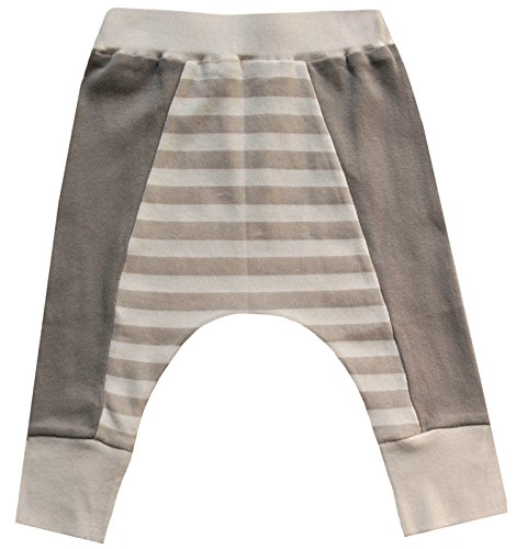 Cat & Dogma Certified Organic Baby Pants - Moon/Natural (18-24 - Chicago In Outlet Fashion
