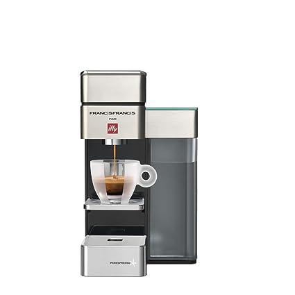 illycaffè Y5 Iperpresso - Máquina de café en cápsulas, color crema