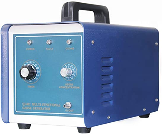 Oz3 Purificador de Aire Comercial generador de ozono, Desodorante Profesional O3 Esterilizador Filtro de Aire Resistente para automóvil, desinfección de Cocina, reducción de formaldehído,Azul: Amazon.es: Hogar