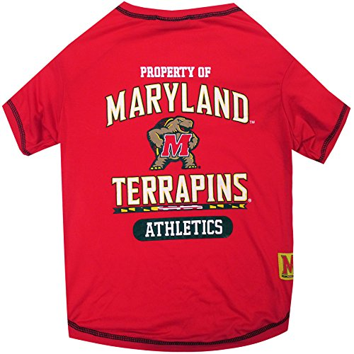 Maryland Store Terps - NCAA Maryland Terrapins Dog T-Shirt, Medium
