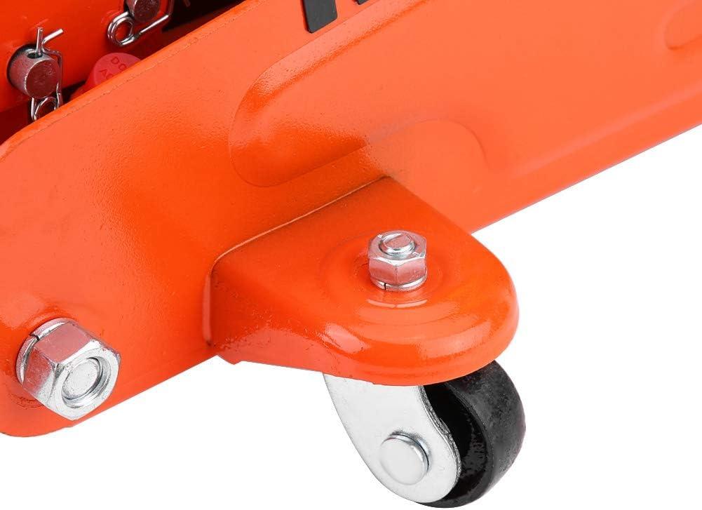 2T Orange Hydraulic Jack Jack Lifting Car Jack Hydraulic Rouleur Lifting Cart for Car Van