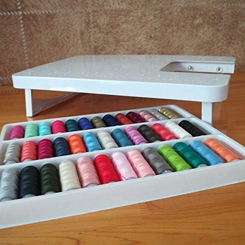 ShineBear 39 hilo de coser de colores, 11 piezas, prensatelas para ...