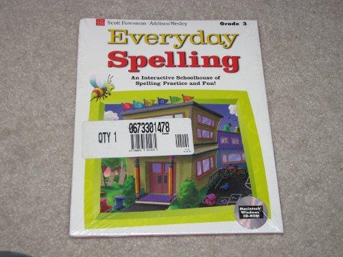 Everyday Spelling Grade 3 CD-rom (Everyday Spelling)