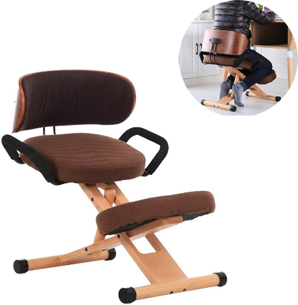 - Aiwer Ergonomic Kneeling Chair Posture Work Desk Stool For Bad