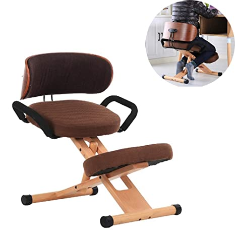 Admirable Amazon Com Mengsi Kneeling Chair Ergonomic Posture Work Pabps2019 Chair Design Images Pabps2019Com