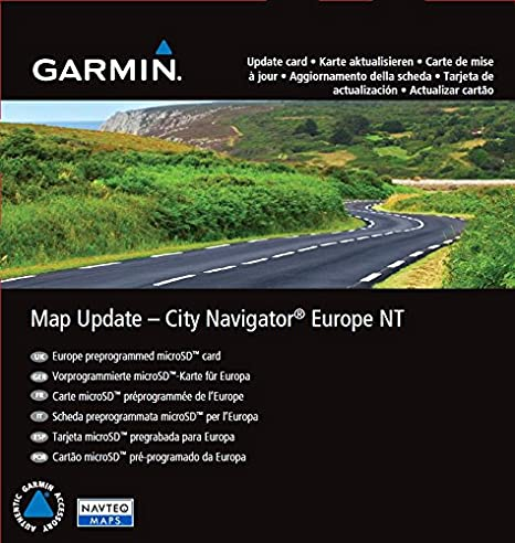 Garmin City Navigator SD Europa NT (Micro SD/SD-Adapter): Amazon ...