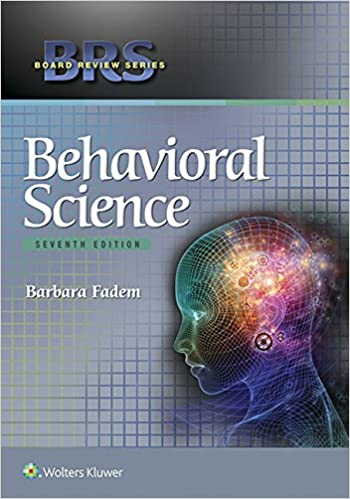 Kết quả hình ảnh cho BRS Behavioral Science (Board Review Series) 7th Edition (Latest)