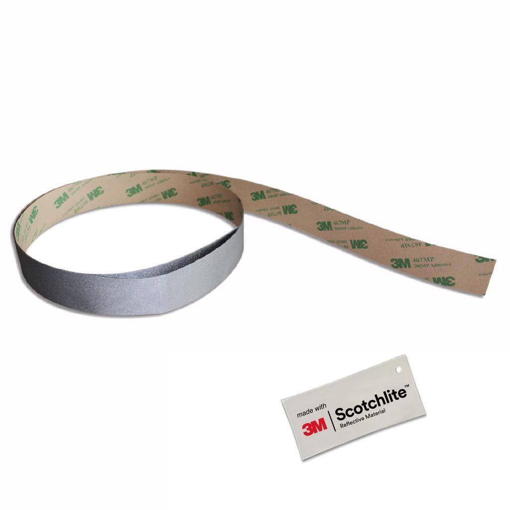 Salzmann 3M Reflektierende Aufkleber/Sticker, ausgestattet mit 3M Scotchlite Salzmann Ltd