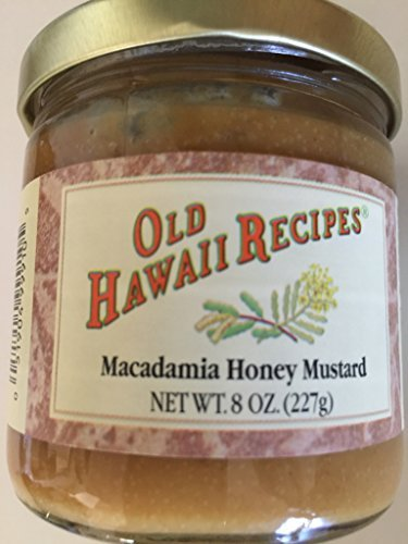 Old Hawaii Recipes Macadami Honey Mustard 8 oz. jar