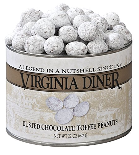 Virginia Diner Dusted Chocolate Toffee Peanuts, 22 Ounce