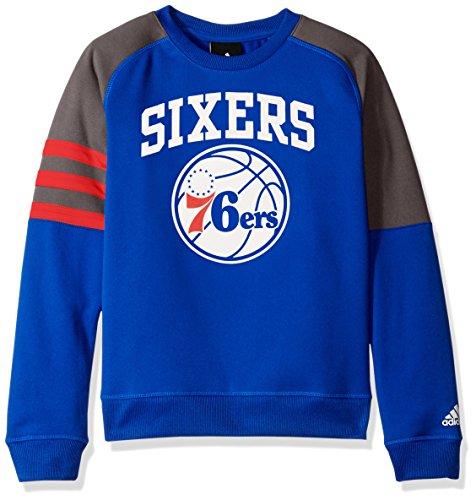 Outerstuff NBA Youth 8-20 Philadelphia 76ers Tech Fleece Long Sleeve (Adidas Philadelphia 76ers Sweatshirt)