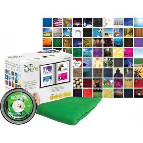 Westcott Illusions Green Screen PhotoKey 6 Lite Software Bundle by Westcott