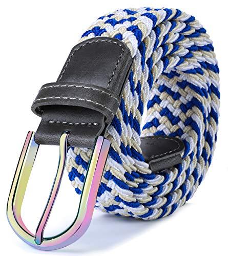 Woven Classic Belt - Stretch Belt Men,Bulliant Mens Woven Stretch Braided Belt 1 3/8,Multicolors
