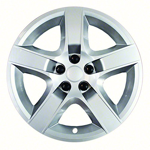 17 inch silver and black hubcaps - 6