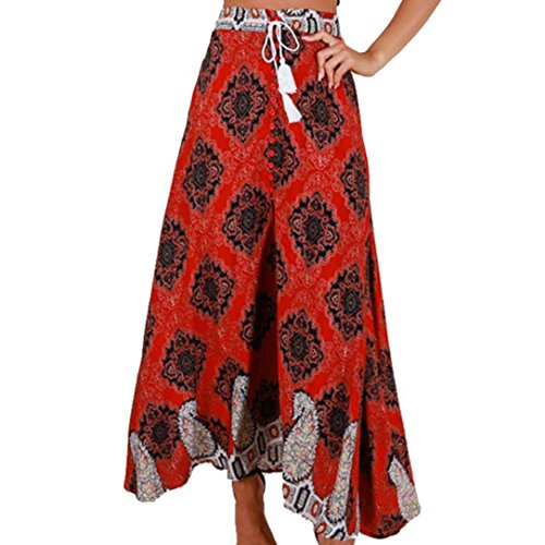 iYYVV Women Bohemian High Waist Bandage Button Beach for sale  Delivered anywhere in USA