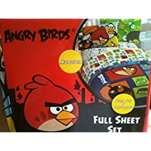 Angry Birds Microfiber Full Size Sheet Set