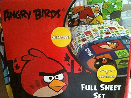 Angry Birds Microfiber Full Sheet