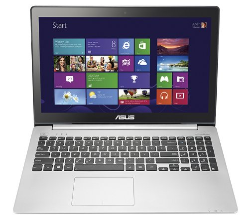 ASUS VivoBook V551LA-DS71T 15.6-Inch Touchscreen Laptop (Silver Aluminum)