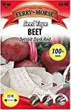 Search : FERRY Organic Seeds:Ferry-Morse Seed Tape 100-Count Seed Tape Beet Detroit Dark Red (L0000)