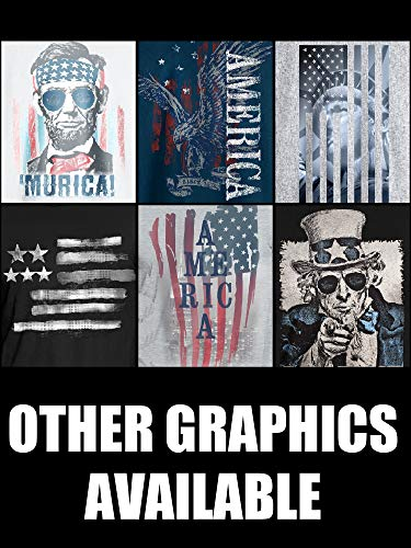 Hanes Men's Graphic Tee - Americana Collection, America, X-Large