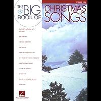 Big Book of Christmas Songs Violin book cover