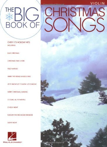 Big Book of Christmas Songs Violin (De Chanson Christmas)