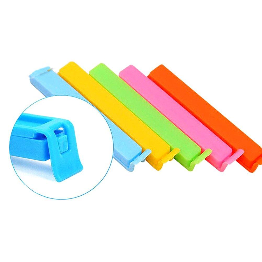 NUOLUX Pinzas Clip para Bolsas Pinza Cerrar Bolsas (Color ...