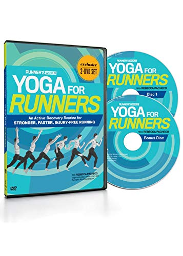 Runner's World Yoga for Runners DVD: an Active-Recovery Routine for Stronger, Faster, Injury-Free Running from Runner's World
