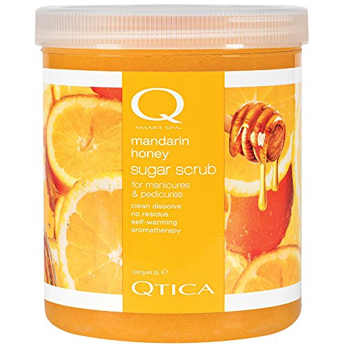 Qtica Smart Spa Sugar Scrub Mandarin Honey 44 oz