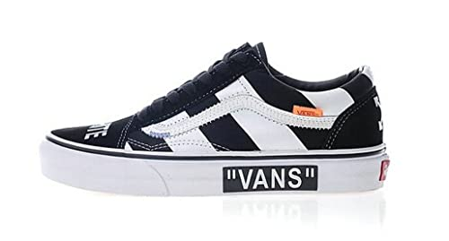 Off-White X Vans Old Skool Canvas Skate Shoes Zapatillas de Gimnasia para Hombre Mujer: Amazon.es: Zapatos y complementos