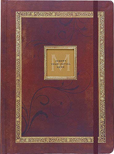 Antique Monogram Journal (Diary, Notebook) ()
