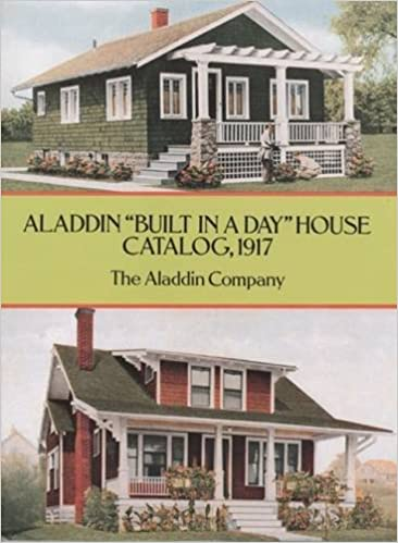 Aladdin 'Built in a Day' House Catalog, 1917 (Dover Architecture)