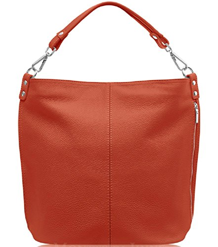 Chocolate Spalla A Montte Jinne Orange Di Marrone L Burnt Donna Dark Borsa fII8xgnq