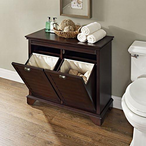 home, kitchen, furniture, accent furniture,  storage cabinets 1 picture Crosley Furniture Linen Hamper, Espresso promotion