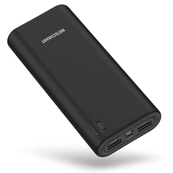 Amazon.com: Cargador de teléfono móvil Pack 20000mah Quick ...