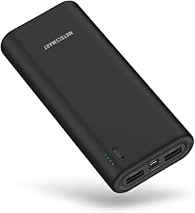 Fast Charging USB C Power Bank, Metecsmart Portable Fast Charger, 20000mAh External Charger, Phone Battery Backup, Quick Charge Power Bank Portable Charger Mobile Charger Battery Pack