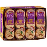 Keebler Cracker Sandwiches To Go - Peanut Butter & Jelly - 1.38 oz - 8 ct