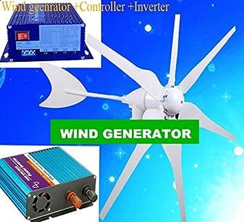 GOWE 300 W generador eólico + regulador híbrido viento solar + ...