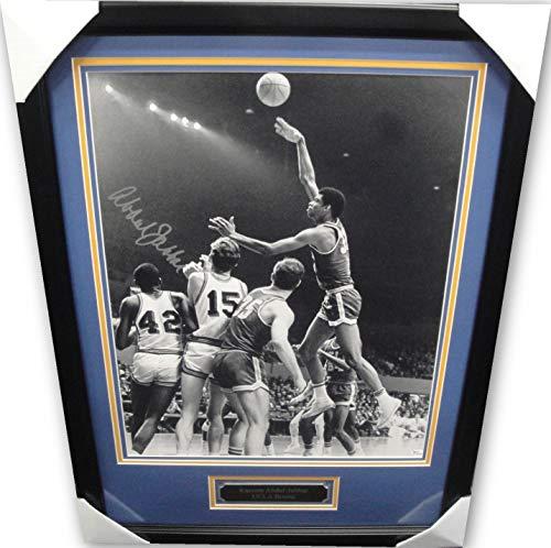 Kareem Abdul Jabbar Hand Signed 16x20 Photo Framed UCLA Bruins Lakers Framed OA
